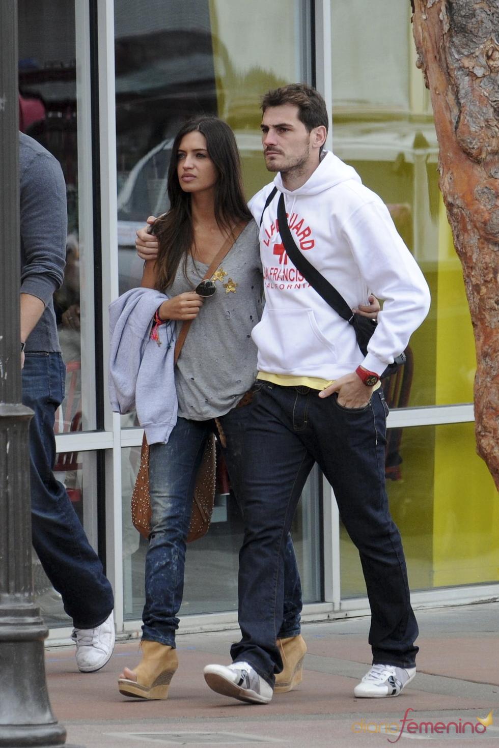Iker Casillas y Sara Carbonero, una pareja feliz en San Francisco