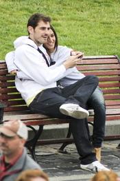 Iker Casillas y Sara Carbonero se divierten en San Francisco