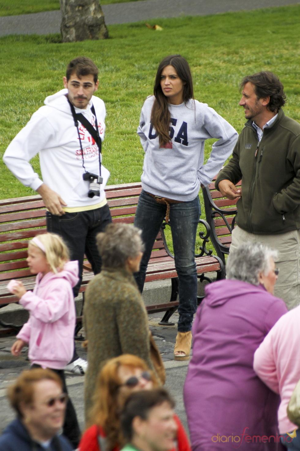 Iker Casillas y Sara Carbonero descansan en San Francisco