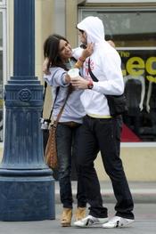 Iker Casillas y Sara Carbonero muy enamorados en San Francisco