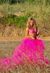 Shakira trabajando en Ibiza