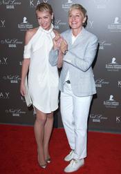Ellen DeGeneres y Portia de Rossi, solidarias