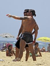 Sergio Ramos, días de descanso en la playa