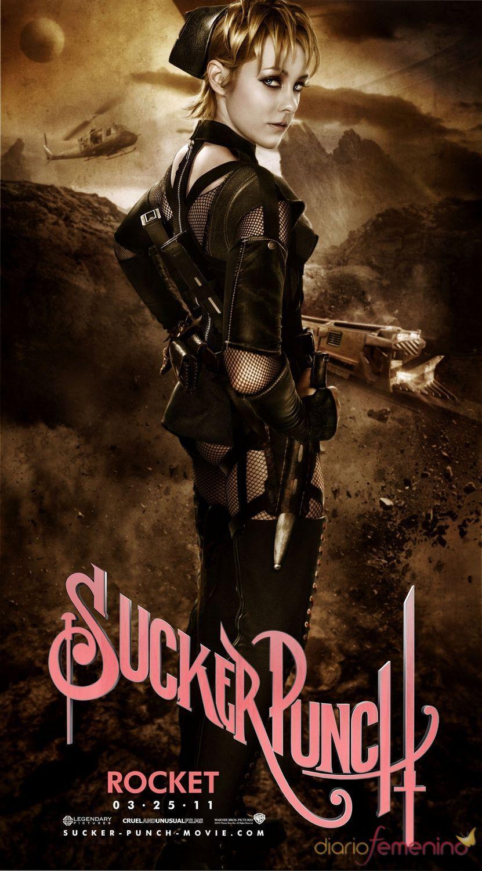 Jena Malone interpreta a Rocket en 'Sucker Punch'