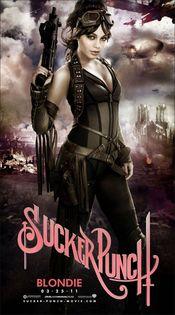 Vanessa Hudgens interpreta a Blondie en 'Sucker Punch'