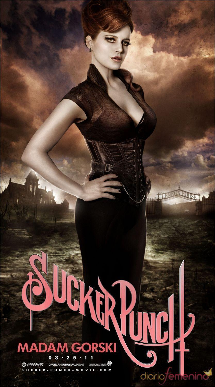 Carla Gugino interpreta a Madam Gorski en 'Sucker Punch'