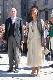 El Rey Juan Carlos I, inseparable de su baston