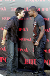 Sharlto Copley y Quinton Jackson son Murdock y M.A. en 'El equipo A'