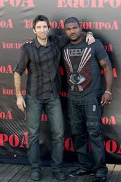 Sharlto Copley y Quinton Jackson protagonizan 'El equipo A'