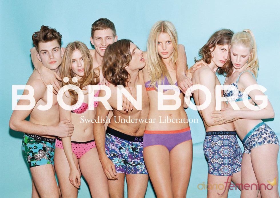 Björn Borg vuelve con una línea colorida de ropa interior para otoño/invierno