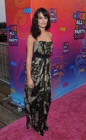 Lea Michele entre las más elegantes de la fiesta All-Star de Fox