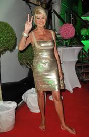 Ivana Trump en la fiesta Denise Rich en Saint Tropez