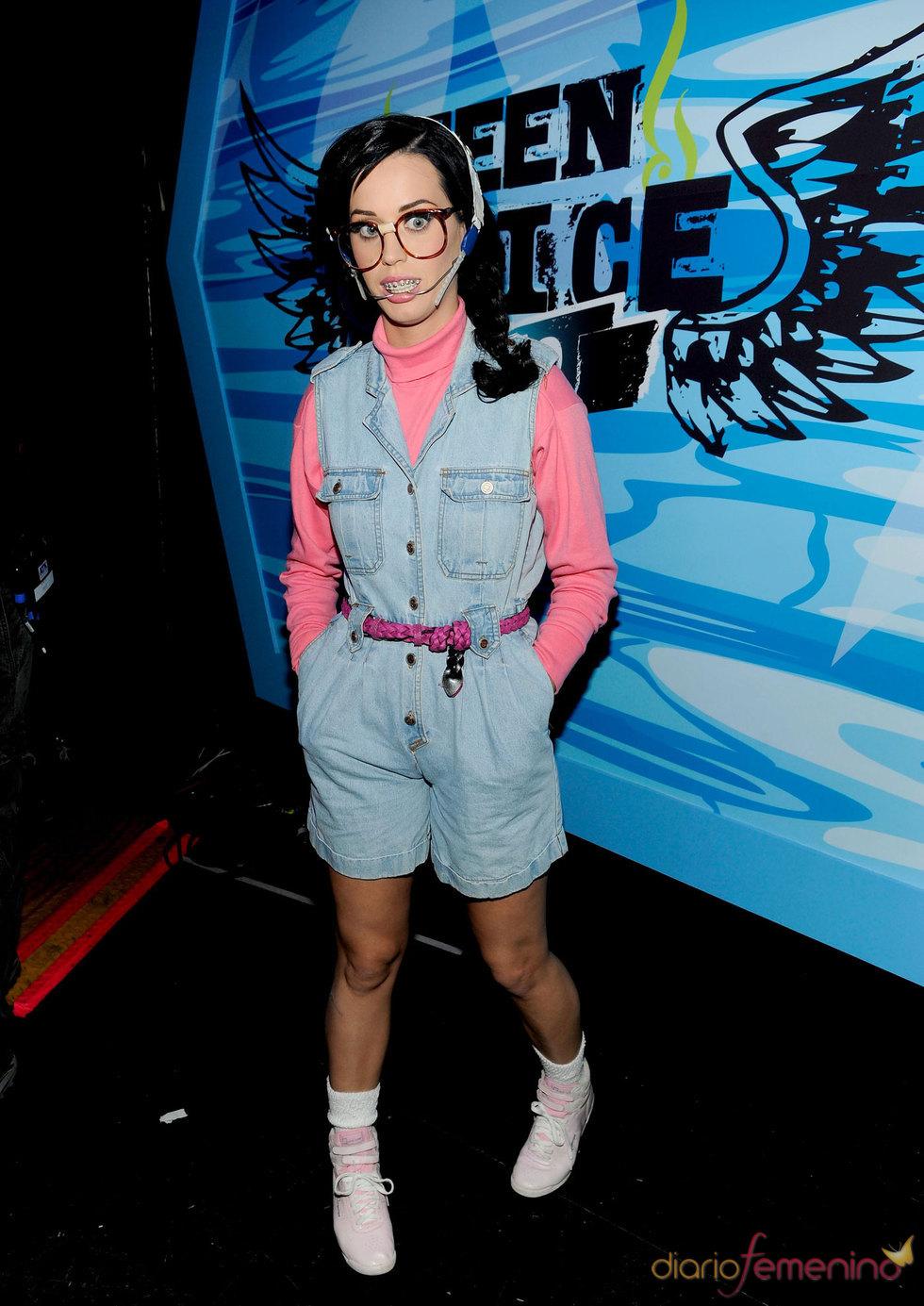 La 'nueva' Katy Perry en el Teen Choice Awards 2010