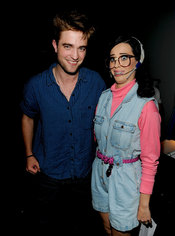Robert Pattison y Katy Perry en la gala de los Teen Choice 2010