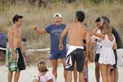 Jorge Fernández con Sete Gibernau en Ibiza