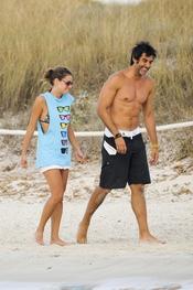 Jorge Fernández y Amaia Salamanca, dos amigos en Ibiza