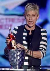 Ellen DeGeneres en los Teen Choice Awards 2010