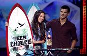 Taylor Lautner y Megan Fox, los más 'hotties'
