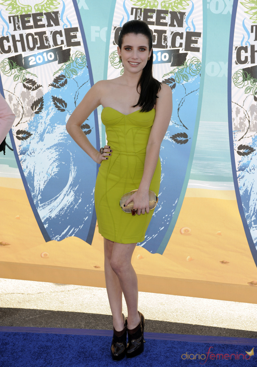 Emma Roberts en los Teen Choice Awards