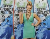 La cantante Hilary Duff