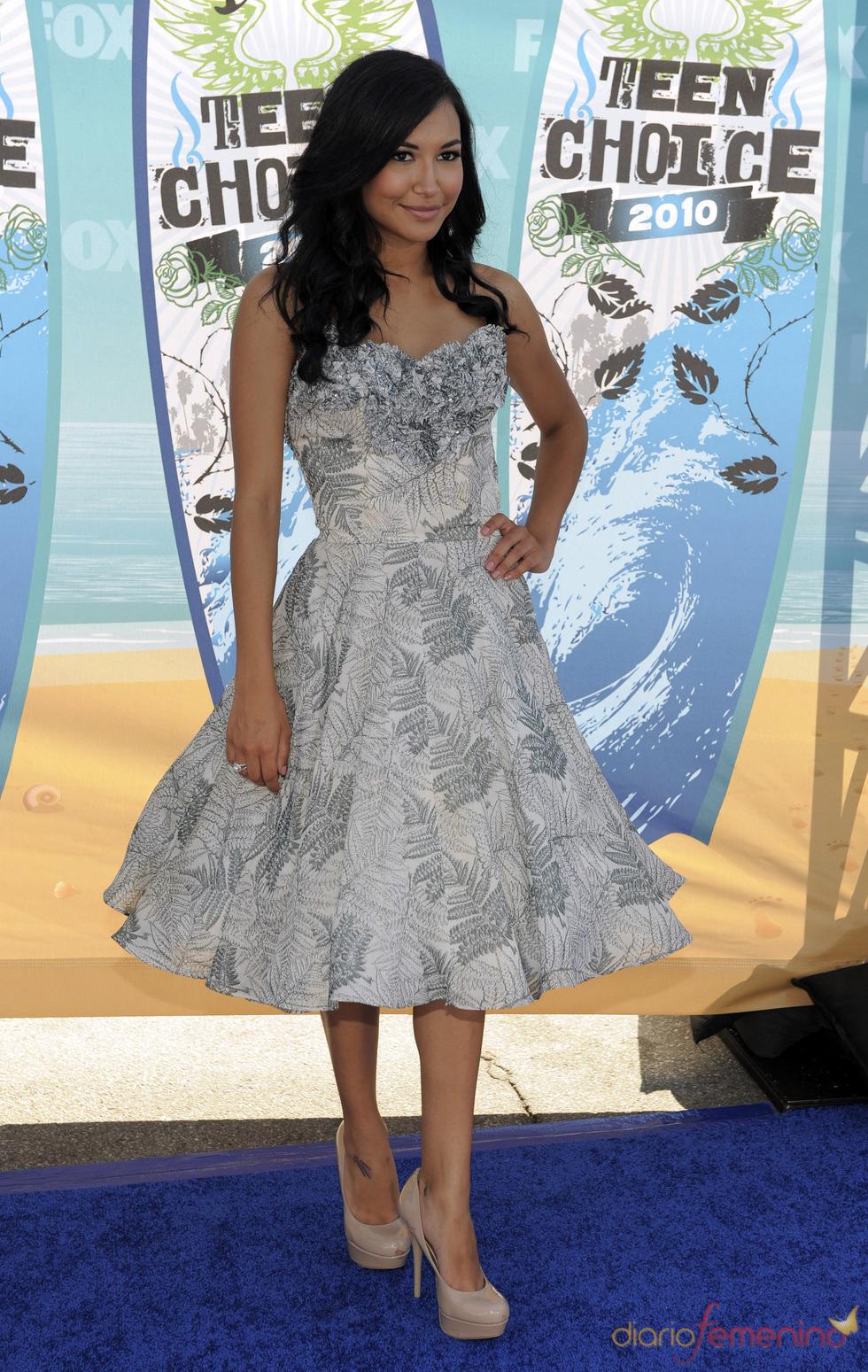 Naya Rivera, de 'Glee'