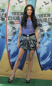 Megan Fox en los Teen Choice 2010