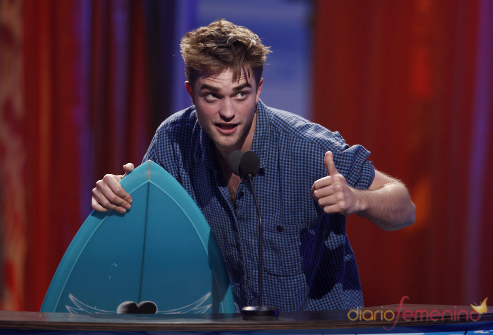 Robert Pattinson en los Teen Choice