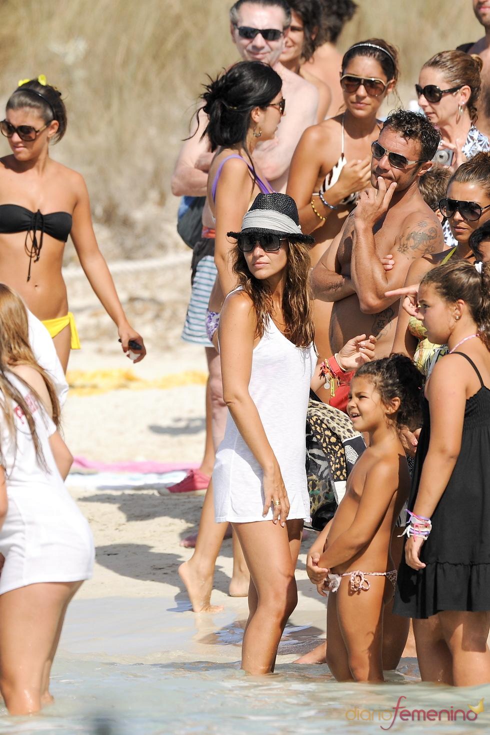 Paula Echevarría veraneando en Formentera