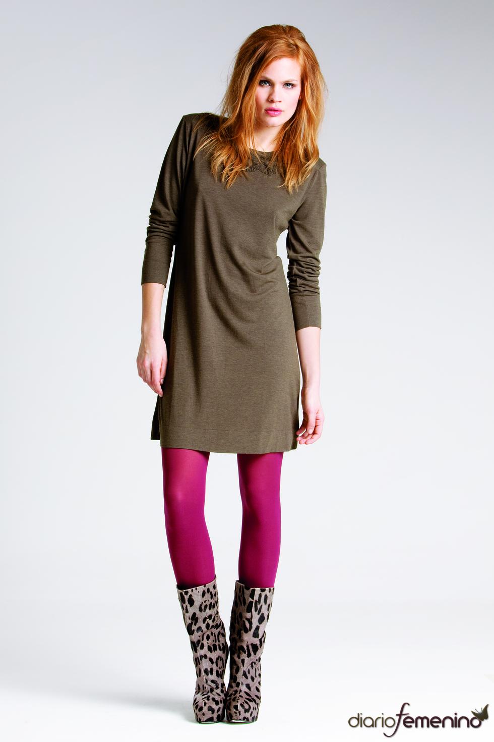 Vestido marrón de Messcalino
