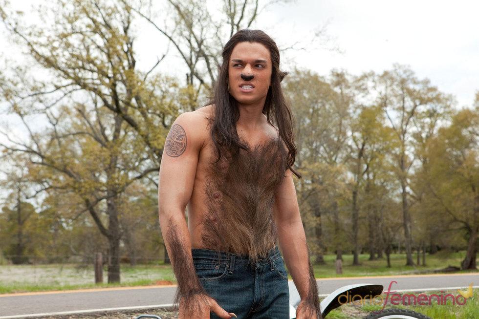 Taylor Lautner parodiado en 'No es otra tonta película de vampiros'