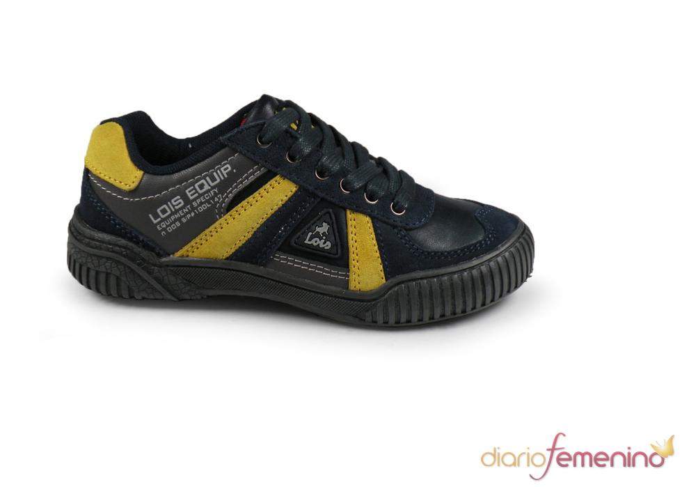 Zapatillas infantiles de cordones de Lois