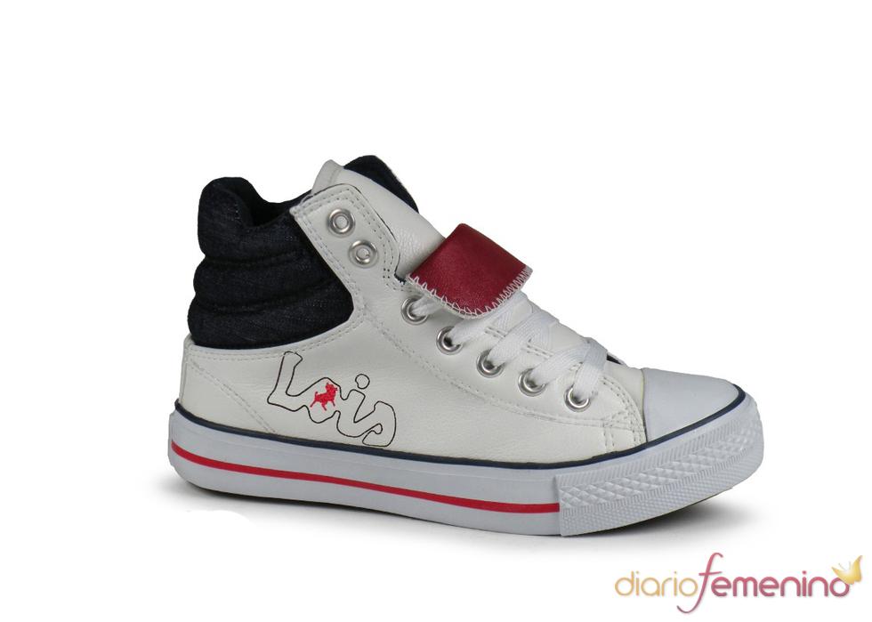 Deportiva de bota blanca de Lois