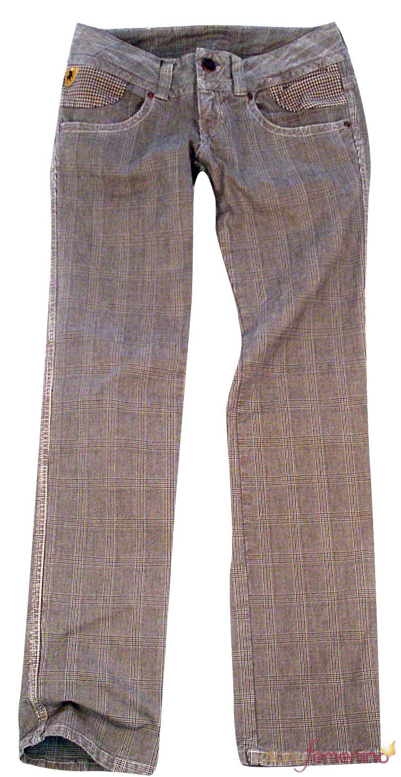 Pantalones de cuadros infantiles de Lois