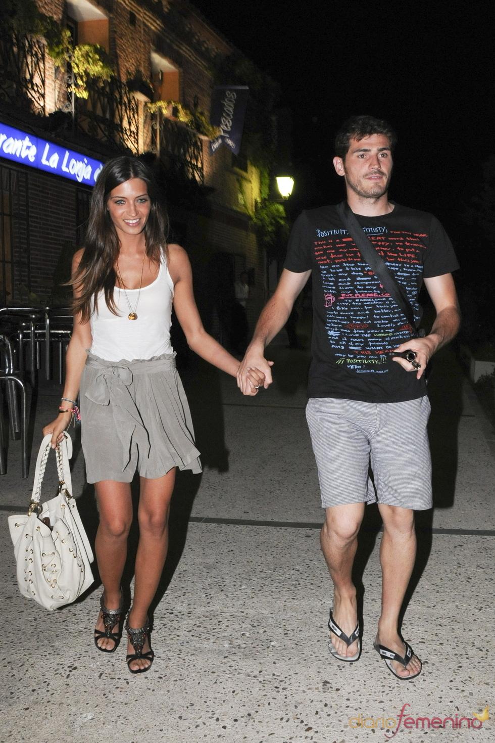 Iker Casillas y Sara Carbonero cenan juntos en Madrid