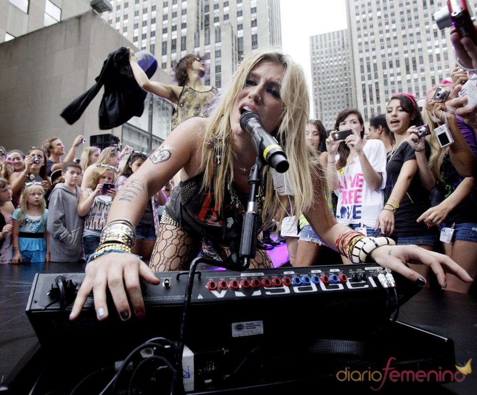 Espectáculo de Kesha para el programa  'Today' de la NBC