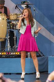 Concierto de Demi Lovato en el Central Park de Nueva York