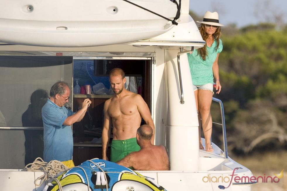 Gonzalo Miró y Amaia Montero juntos de vacaciones