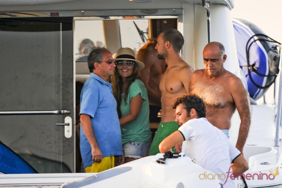 Gonzalo Miró y Amaia Montero, verano en Ibiza