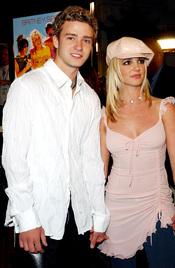 Justin Timberlake y Britney Spears cuando salían juntos