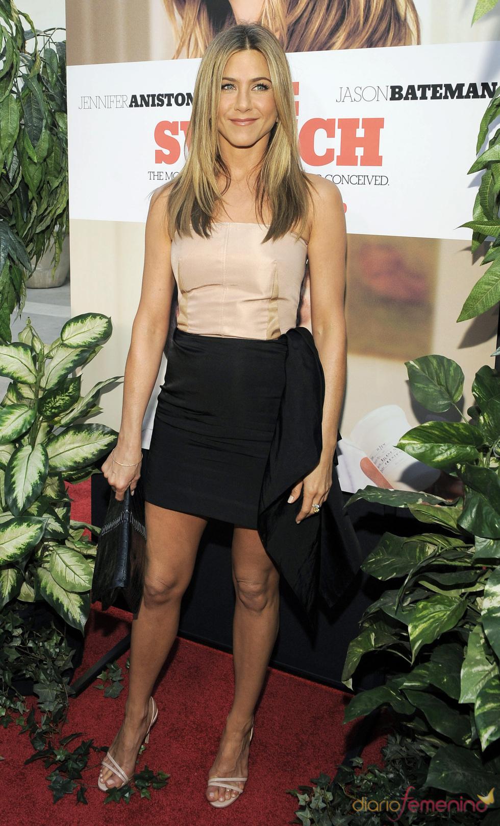 Jennifer Aniston en el estreno de 'Un pequeño cambio'