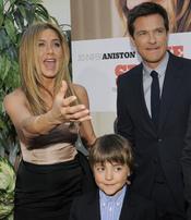 Jennifer Aniston, Jason Bateman yThomas Robinson de estreno