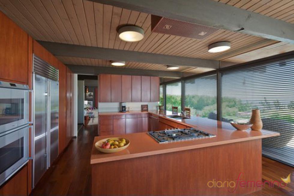 Cocina de la casa de Scarlett Johansson