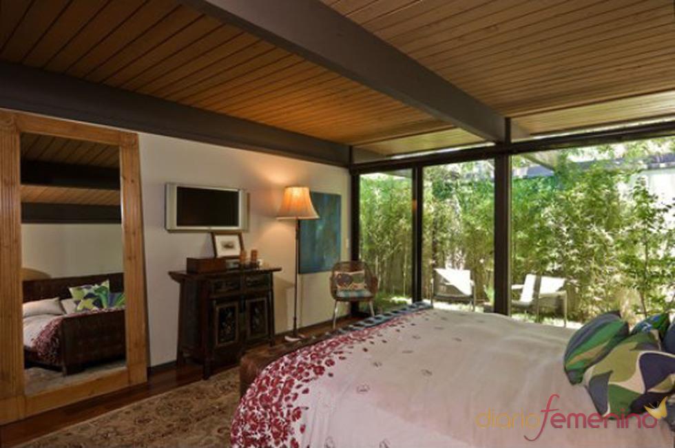 Dormitorio de la casa de Scarlett Johansson