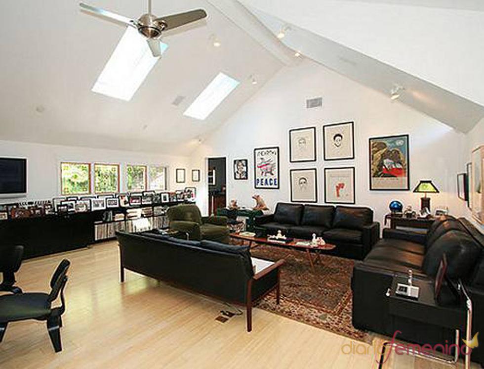 Salón de la casa de los Jonas Brothers