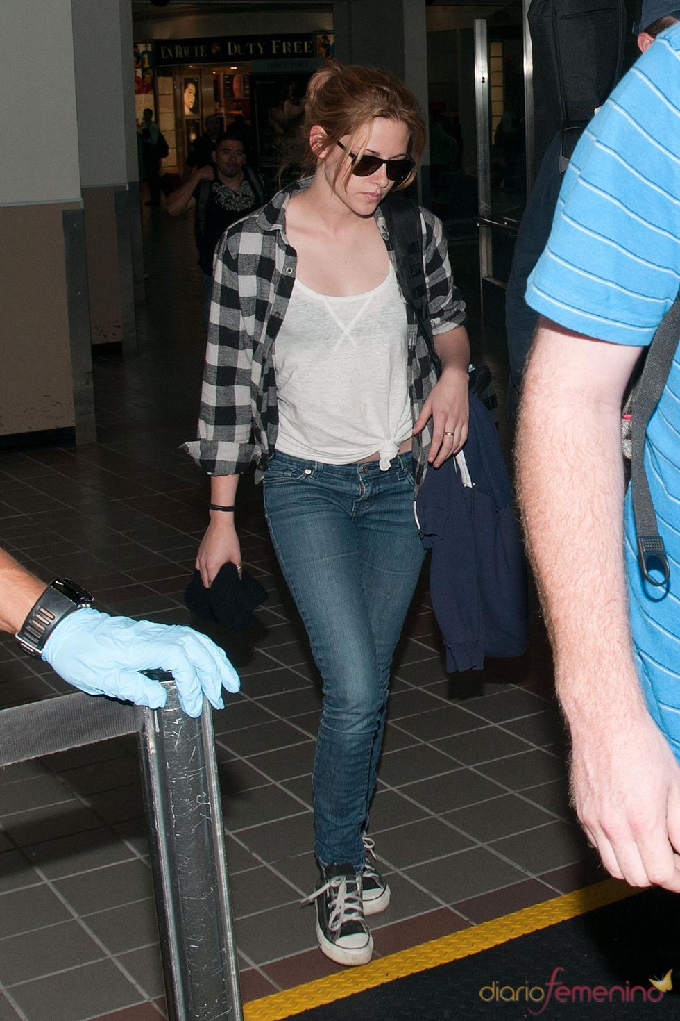 Kristen Stewart con look informal