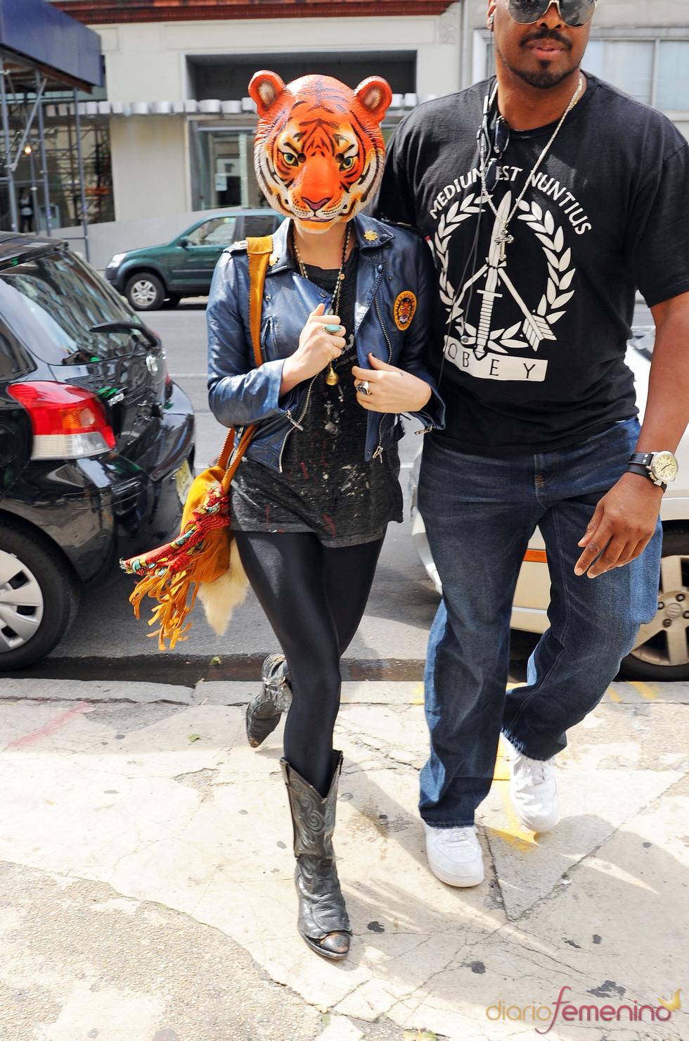 Kesha y su look para pasar desapercibida