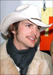 Ashton Kutcher de cowboy