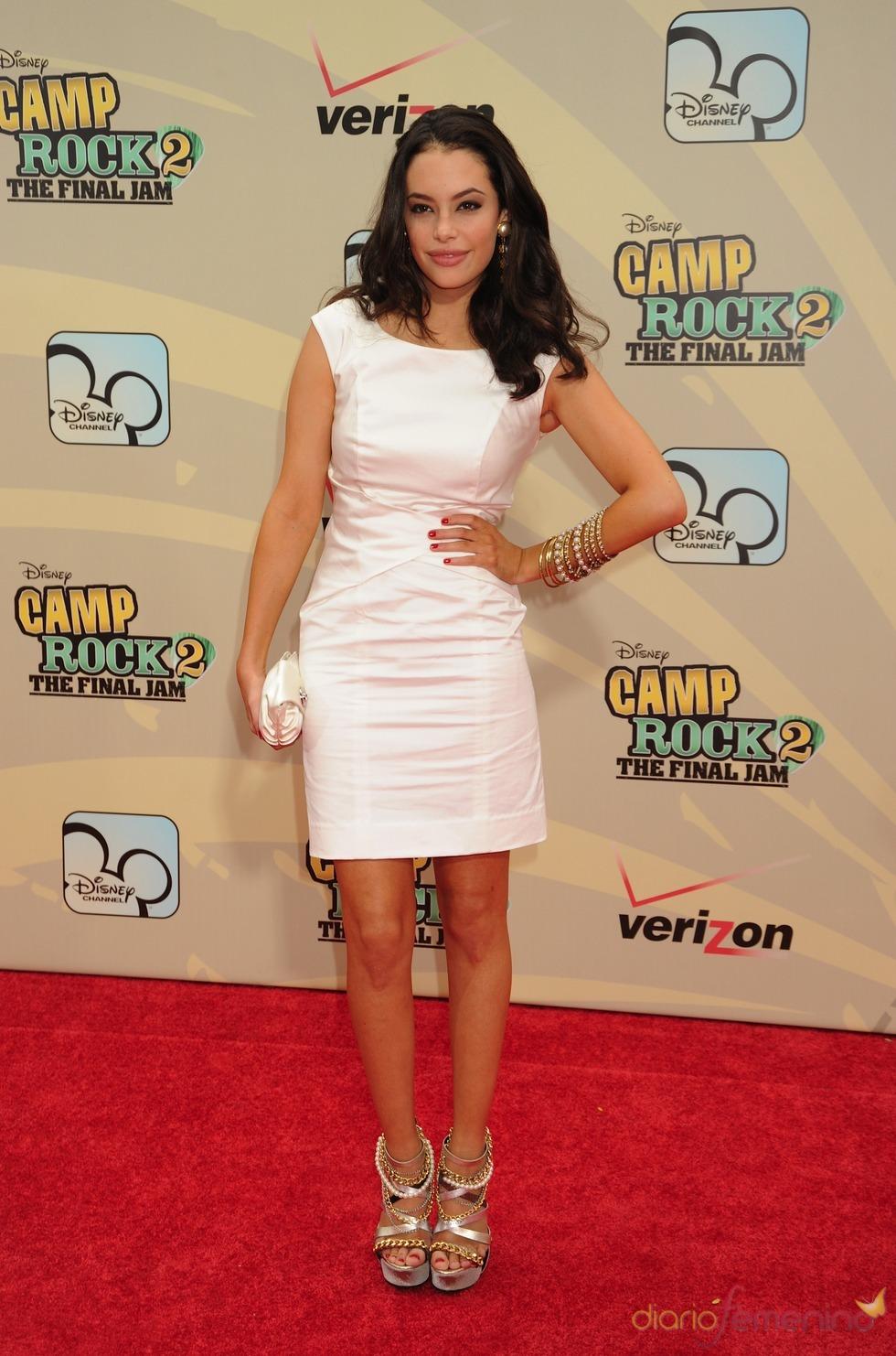 Chloe Bridges en el estreno de 'Camp Rock 2'