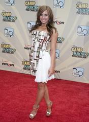 Demi Lovato en el estreno de 'Camp Rock 2'