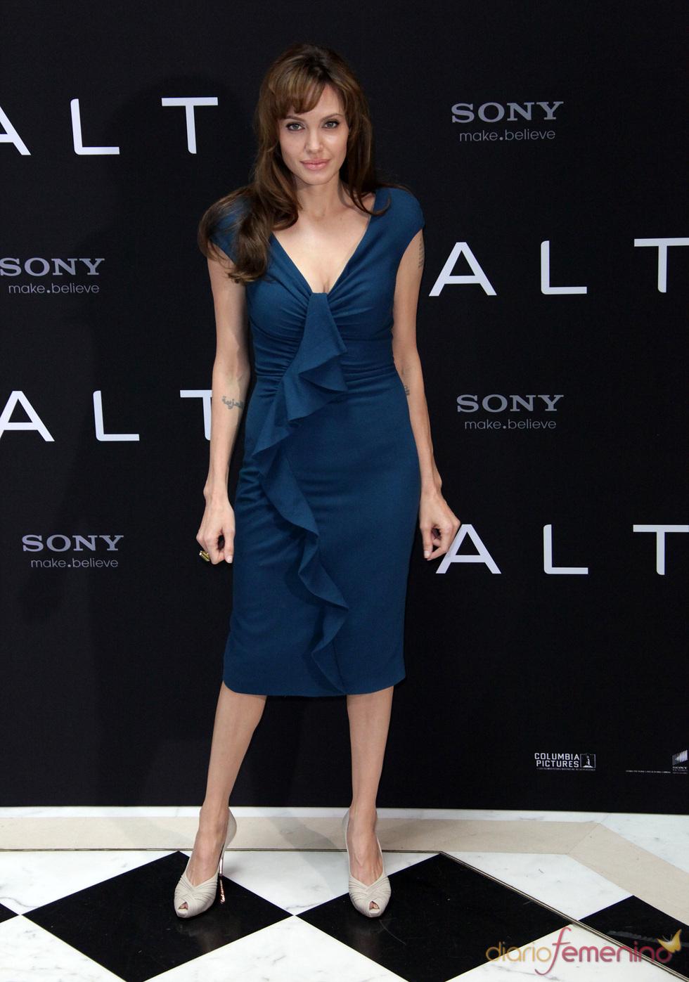 Angelina Jolie apuesta por los volantes